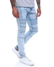 Men - Washed out Moto Jean-2350389