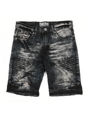 Sizes 8-20 - Big Kids - Denim Stretch Shorts (8-20)-2348666