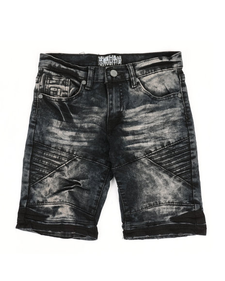 Arcade Styles - Denim Stretch Shorts (8-20)