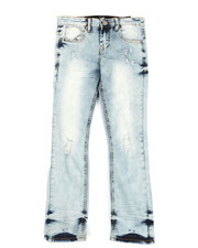 Sizes 8-20 - Big Kids - Stretch w/ Destruction Jeans (8-20)-2348687