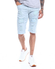 Men - Distressed Twill Stretch Short-2350106