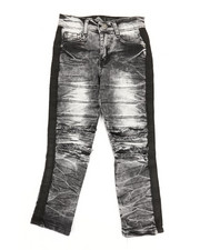 Boys - Taping Ripped Knee Jeans (4-7)-2348274