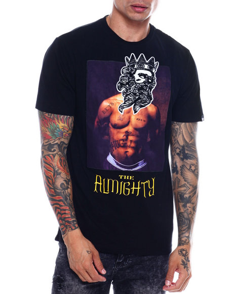 Buyers Picks - THE ALMIGHTY TEE W/SUEDE PATCH