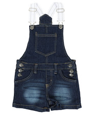 Overalls & Jumpers - Shortalls w/ Pockets (4-6X)-2346550