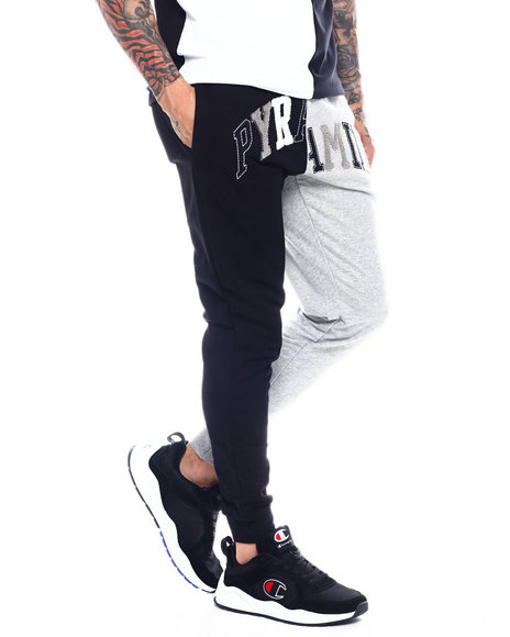 Black Pyramid - VARSITY SPLIT SWEATPANT