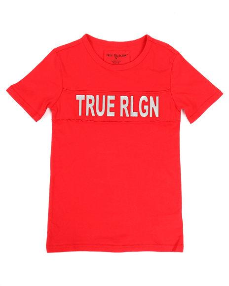 True Religion - TR Print Mesh Tee (8-20)