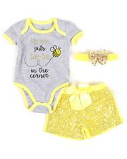 Girls - 3 Piece Knit Set (Infant)-2345529
