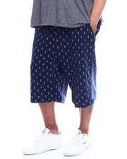 Buyers Picks - Mens Fleece Print Shorts (B&T)-2349244