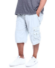 Shorts - Men's Twill Belted Cargo Short (B&T)-2349272