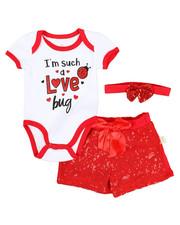 Infant & Newborn - 3 Piece Knit Set (Infant)-2345525