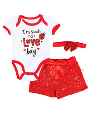 Girls - 3 Piece Knit Set (Infant)-2345525