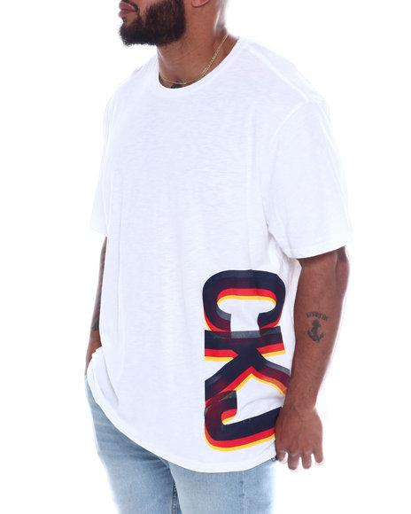 Calvin Klein - Tripled Gradient S/S Tee (B&T)