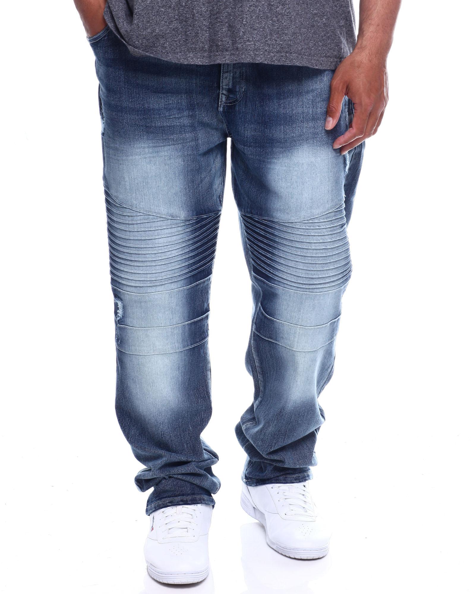 Southpole Boys Big Slim Stretch Biker//Moto Denim Pants