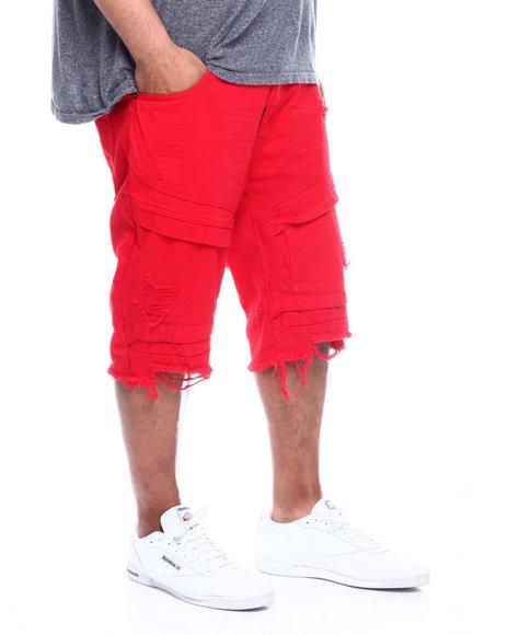 SMOKE RISE - Twill Shorts (B&T)