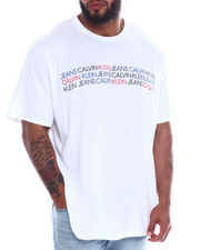 Big & Tall Faves - Tri Color Logo S/S Tee (B&T)-2350856