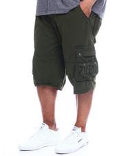 Buyers Picks - Men's Twill Belted Cargo Short (B&T)-2349247