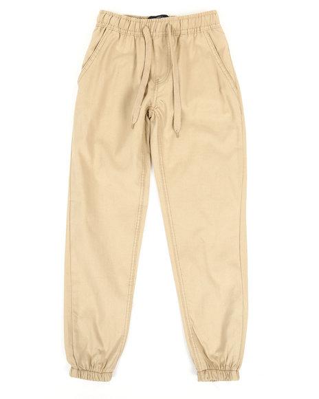 Arcade Styles - Twill Fashion Jogger Pants (8-20)