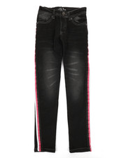 Girls - Jeans W/ Side Taping (7-16)-2348303