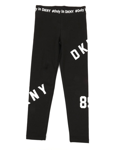 DKNY Jeans - Art Placement Logo Leggings (7-16)