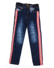 Girls - Jeans W/ Side Taping (4-6X)-2348298