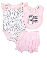 Girls - 3 Piece Knit Set (Infant)-2345390