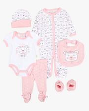 Infant & Newborn - 7 Piece Bear Print Gift Set (Infant)-2345424