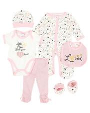 Girls - 7 Piece Loved Print Set (Infant)-2345452