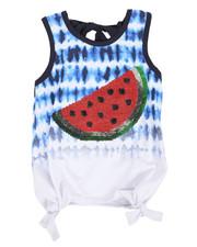Sizes 4-6x - Kids - Tie Dye Sequin Top (4-6X)-2346650