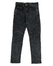 Phat Farm - Skinny Stretch Washed Moto Jeans (8-20)-2350465