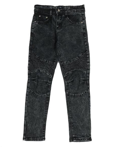 Phat Farm - Skinny Stretch Washed Moto Jeans (8-20)