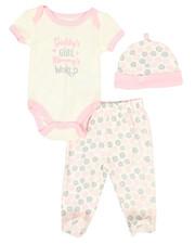 Infant & Newborn - 3 Piece Slogan Knit Set (Infant)-2345845