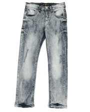 Arcade Styles - Stretch Destruction Denim Jeans (8-20)-2348695