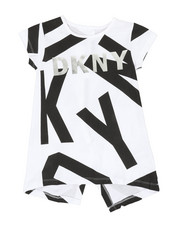 Girls - Classic Jersey Top W/ All Over Letter Print (7-16)-2347209