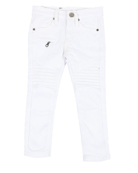 Phat Farm - Stretch Moto Twill Pants w/ Zippers (2T-4T)