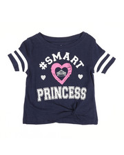 Girls - Top w/ Knotted Hem (2T-4T)-2349701