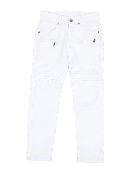 Phat Farm - Stretch Moto Twill Pants w/ Zippers (8-20)