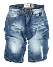 Boys - Ground Zero Denim Shorts (8-20)-2348679