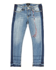 Girls - Ankle Length Hem & Release Skinny Jeans (7-16)-2347297