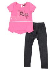 Girls - Fashion Top & Legging Set (2T-4T)-2345533