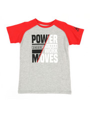 Boys - Power Moves Tee (8-20)-2348977