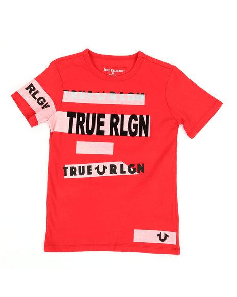 True Religion - Stripe Tee (8-20)