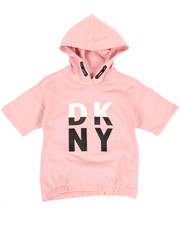 Girls - Color Block Logo Hoodie (7-16)-2347165