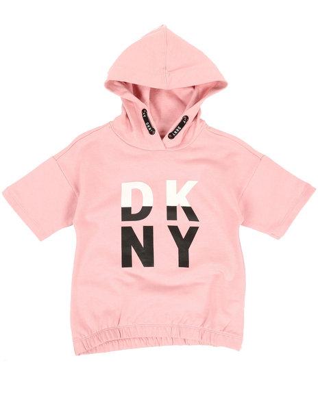 DKNY Jeans - Color Block Logo Hoodie (7-16)