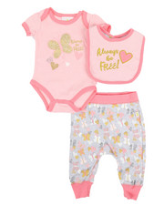 Girls - 3 Piece Knit Set (Infant)-2345841