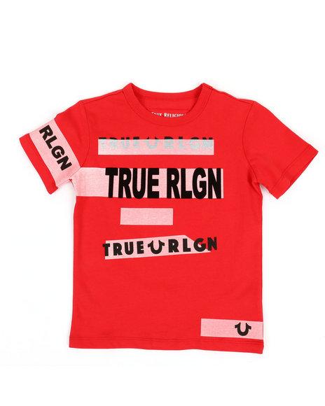 True Religion - Stripe Tee (4-7)