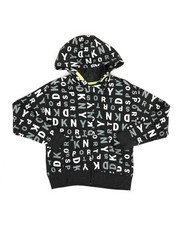 Girls - All Over Logo Hoodie (7-16)-2347155