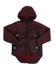 Boys - Color Block Rain Shell Full Zip Jacket (2T-4T)-2348773
