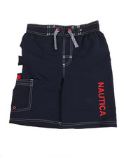 Boys - Swim Trunks W/ Marled Drawstrings (8-20)-2351347