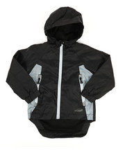 Boys - Color Block Rain Shell Full Zip Jacket (2T-4T)-2348769
