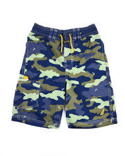 Boys - Camo Printed Swim Trunks (8-20)-2351367